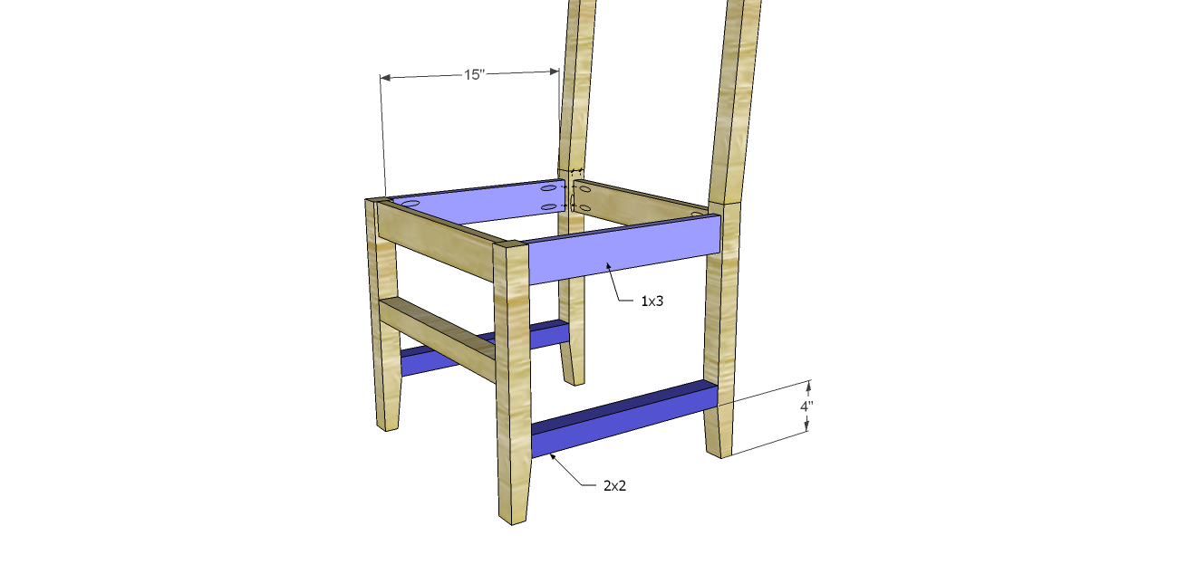 The Daniela Dining Chair Plans Dining Chairs Chair Diy Furniture