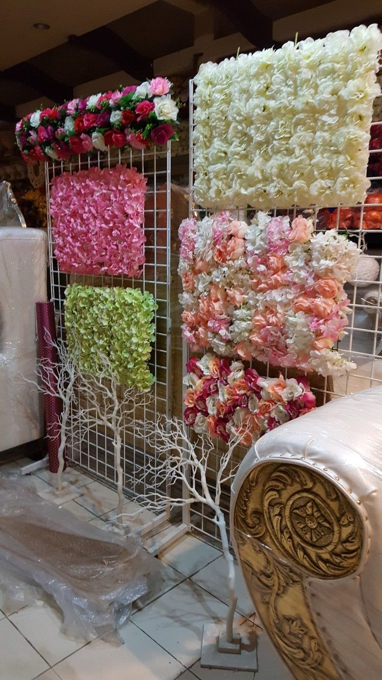 Artificial Flower Panel Sale Fivestardecors Com Wedding Backdrop