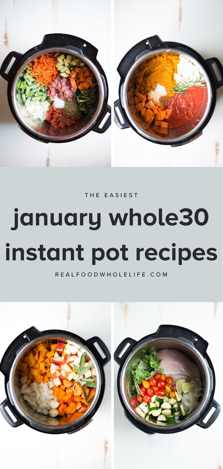 16 Easy Whole30 Recipes to Throw into Your Instant Pot  Real Food Whole Life