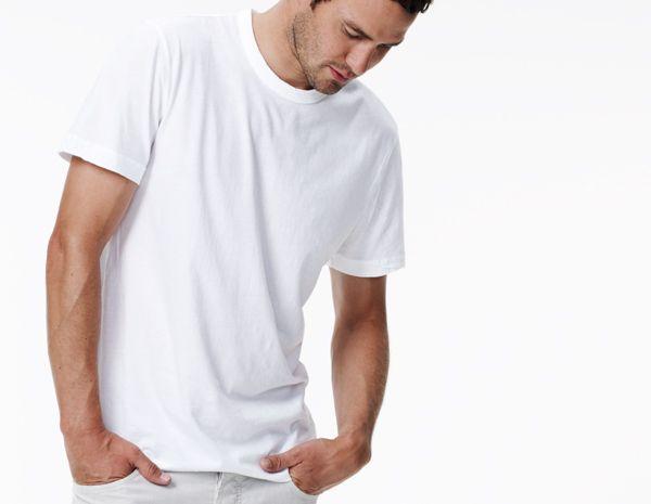 c0a84a829 James Perse Short Sleeve Crew Neck | hi | Mens tops, Crew neck, Shirts