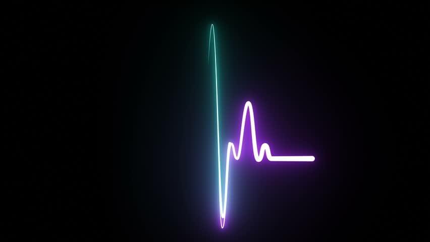 Neon Symbol Design Sign Amazing Stock Footage Video