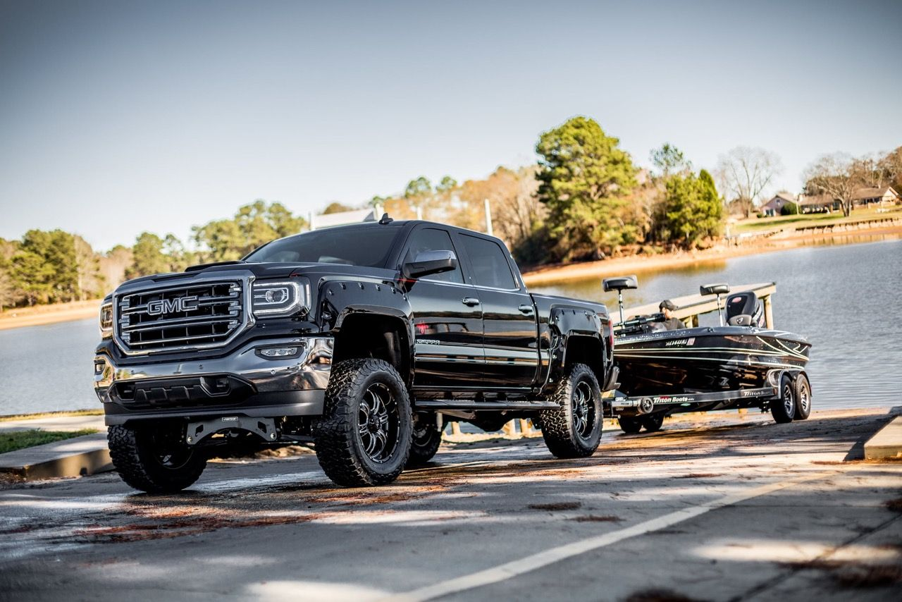 2016 Gmc Sierra Black Widow Trucks Gmc Gmc Trucks