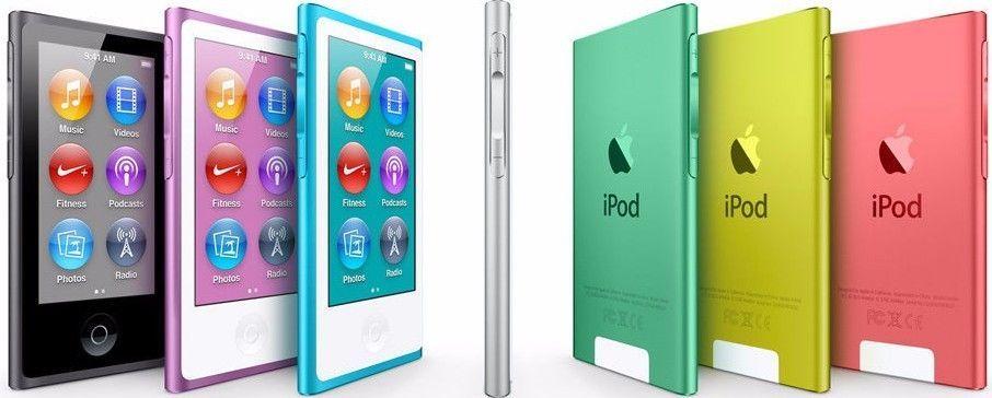 Apple iPod Nano 7th Gen 16GB MP3 Player Blue Yellow Silver