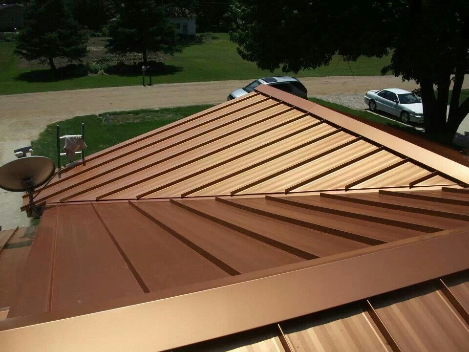 Best Our Steel Roof Color Copper Penny My Home Improvements 400 x 300