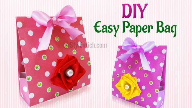 A stunning and easy paper craft idea to make this easy diy handmade a stunning and easy paper craft idea to make this easy diy handmade paper gift solutioingenieria Gallery