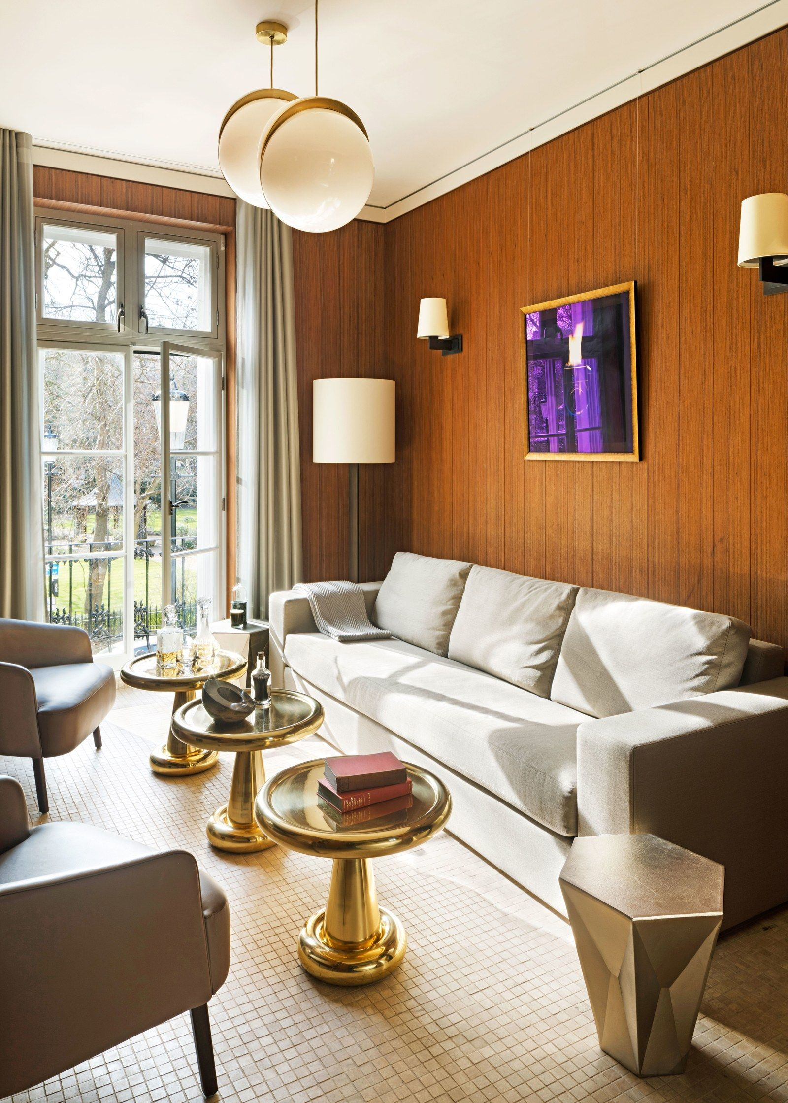Cozy Living Room Ideas For Small Spaces: A Sleek Yet Cozy Small Space In London