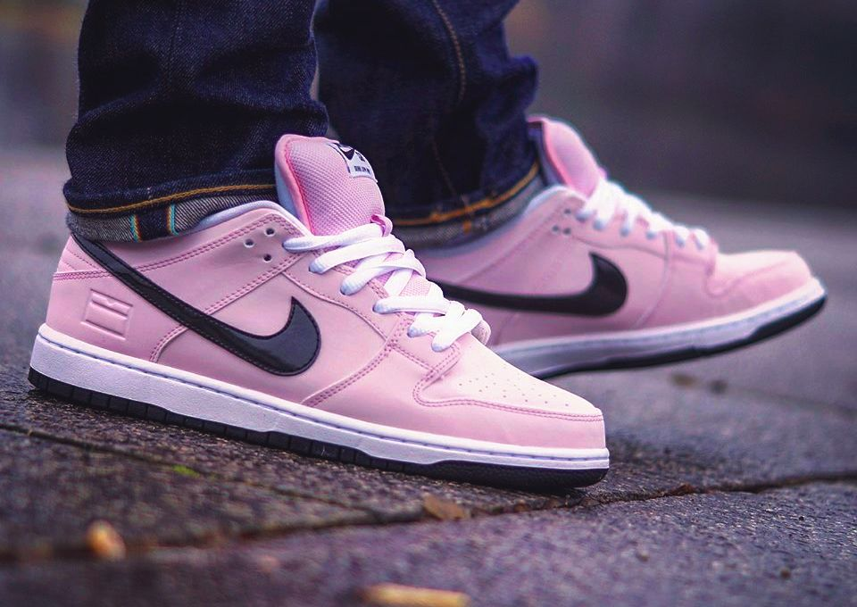 ddf1cb154076 Nike SB Dunk Low  Pink Box  - 2016 (by us.nine5) – Sweetsoles – Sneakers