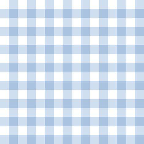 Fabric Stockholm Gingham Blueberry