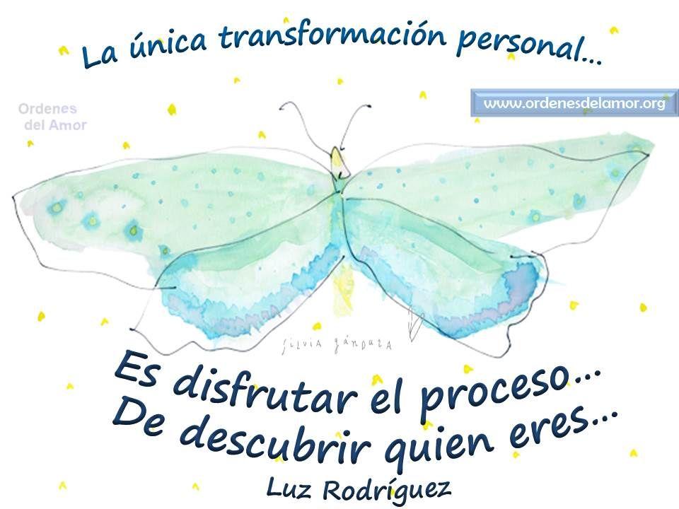 La única transformación personal......