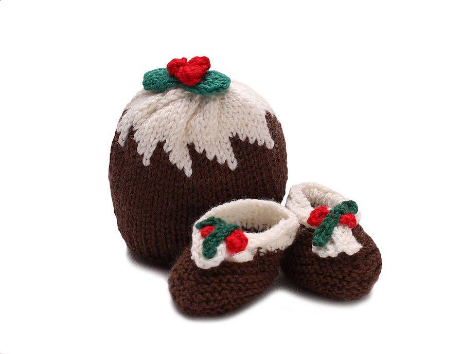 Christmas Pudding Hat Knitting Pinterest Christmas Pudding