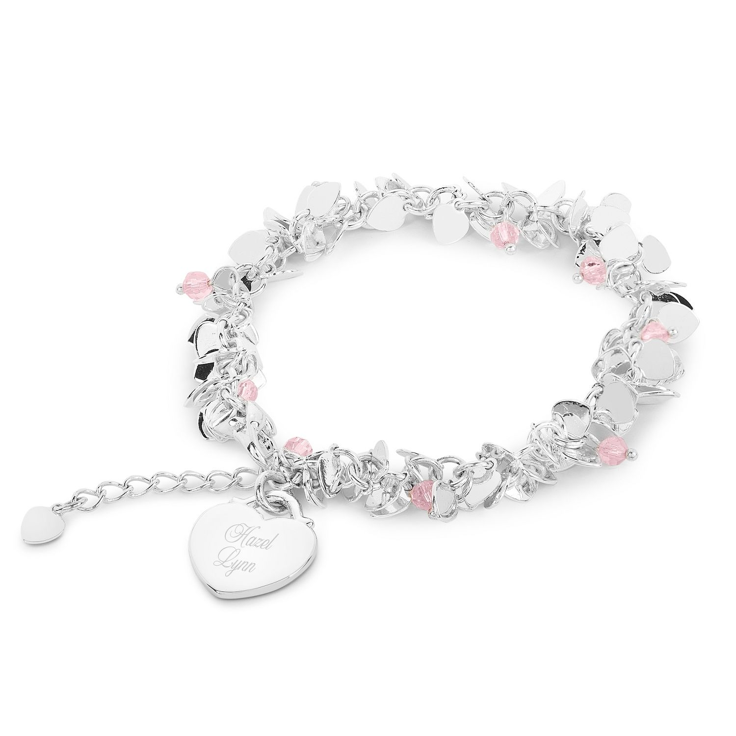 Girls Flutter Heart Bracelet N Pinterest Bracelets and Girls