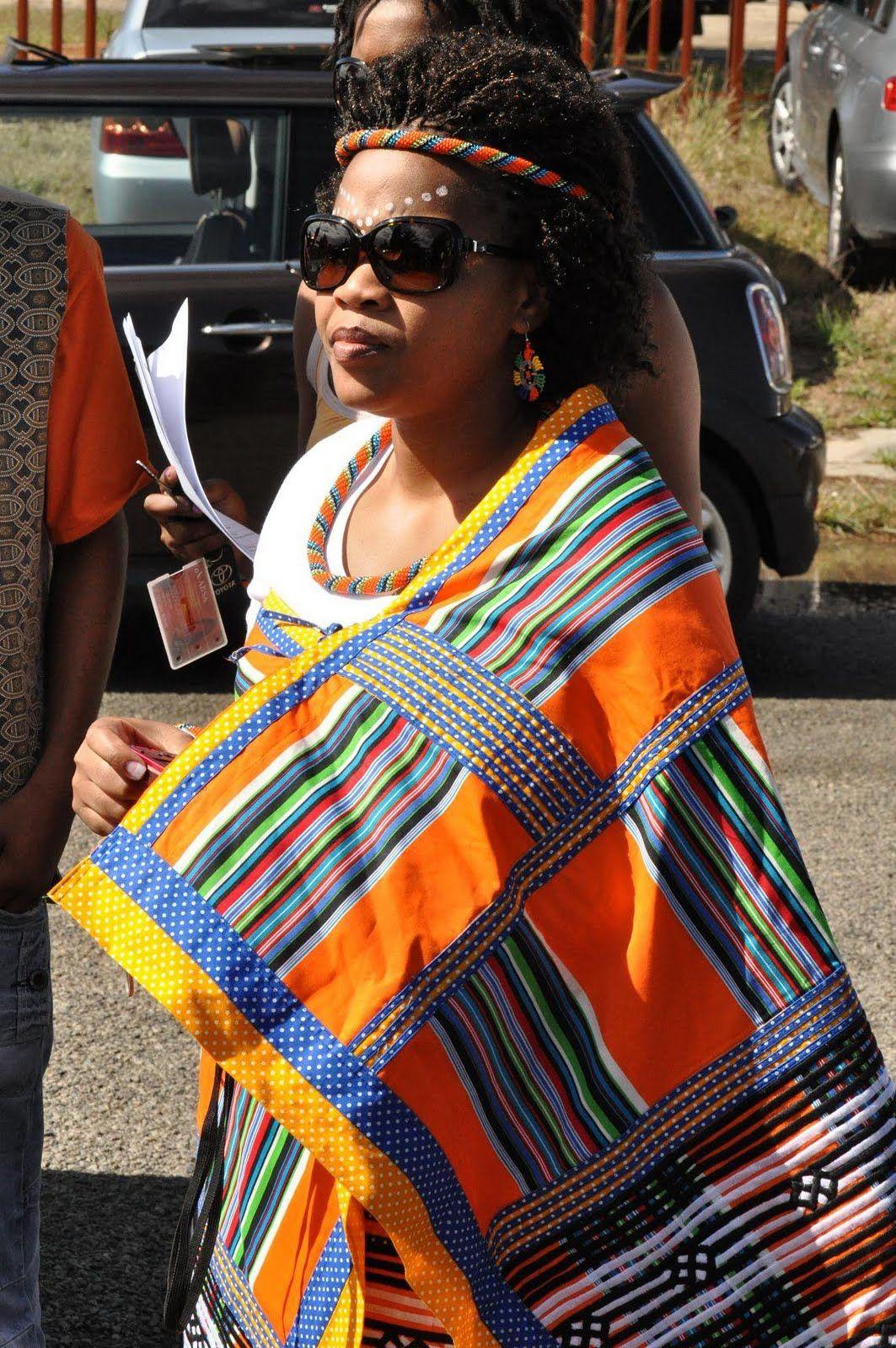 Traditionallydressed Xhosa Guest Xhosa Pinterest