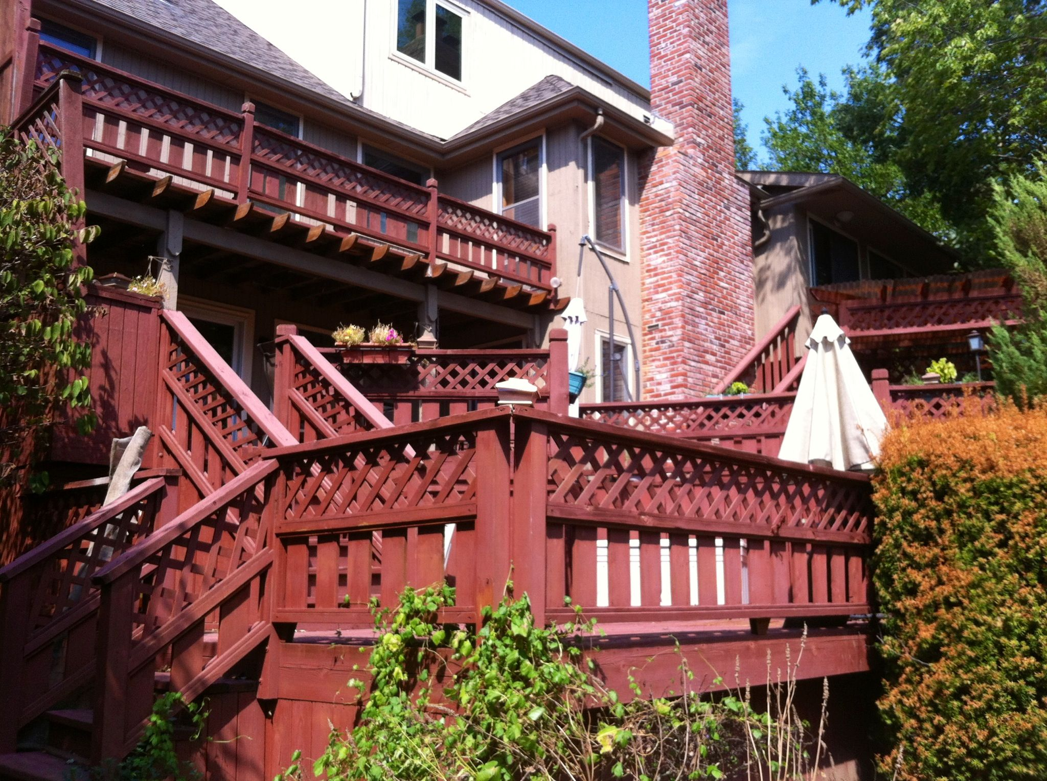 Three level deck ❤