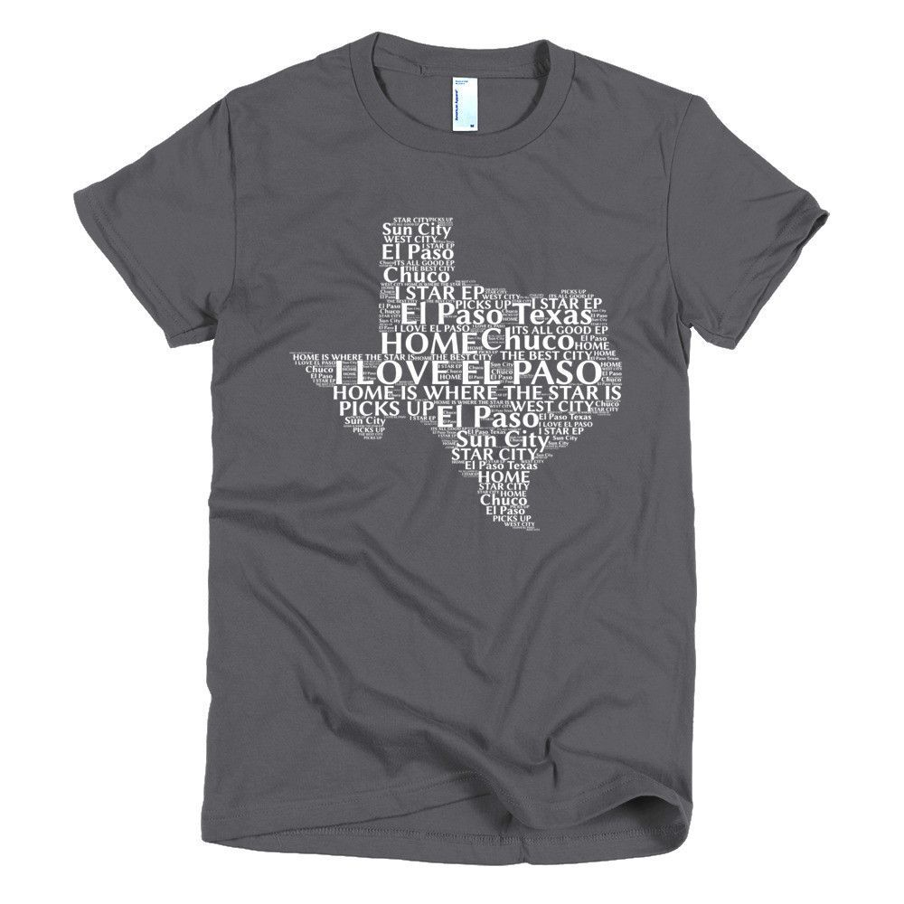 El Paso Texas Short sleeve women's t-shirt