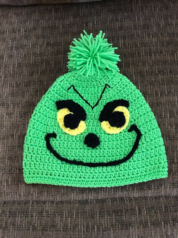 470f86e5754 Grinch Hat