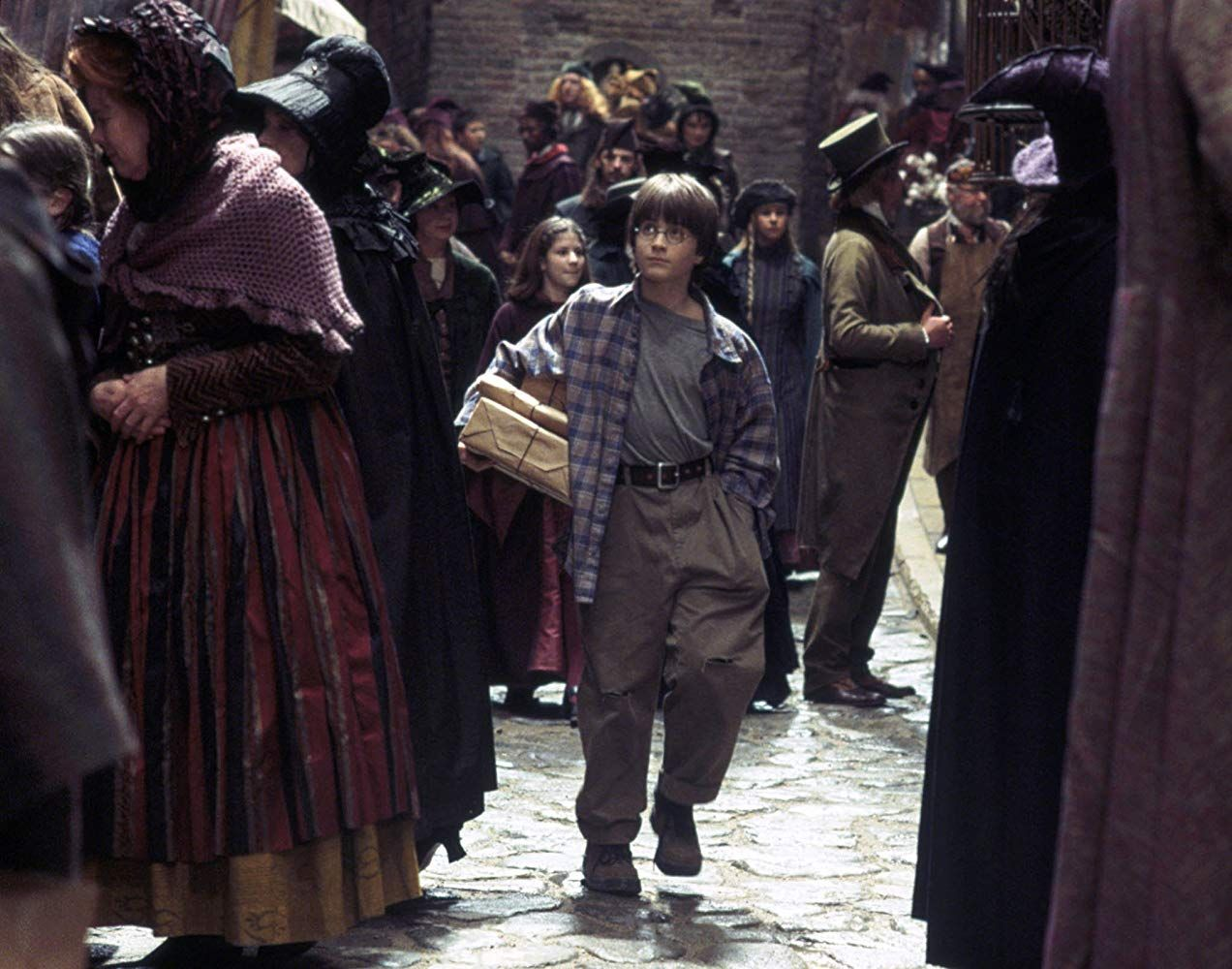 Daniel radcliffe in harry potter and the sorcerers stone