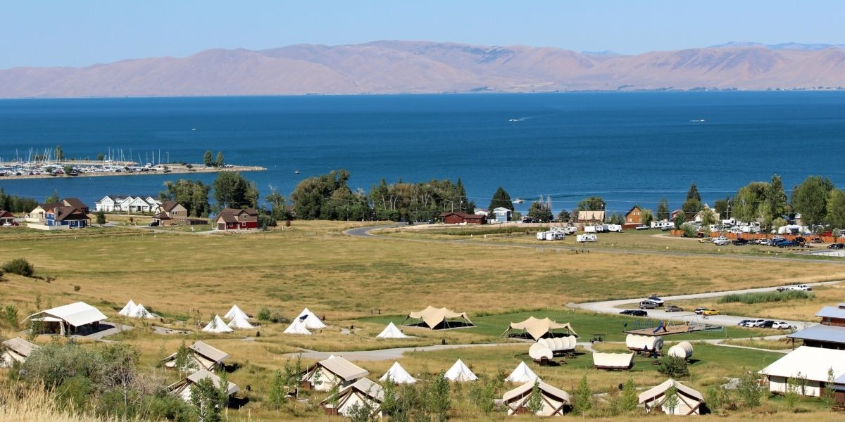 Bear Lake Utah Glamping Resort Hotel Lodging Glamping Resorts