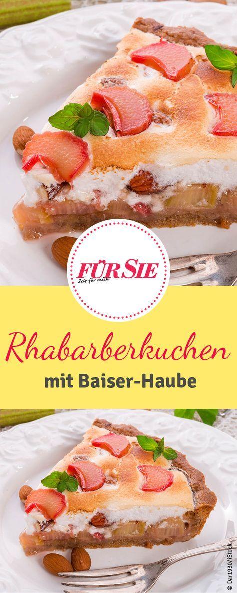 Kuchen rabarba Rhubarb Cake