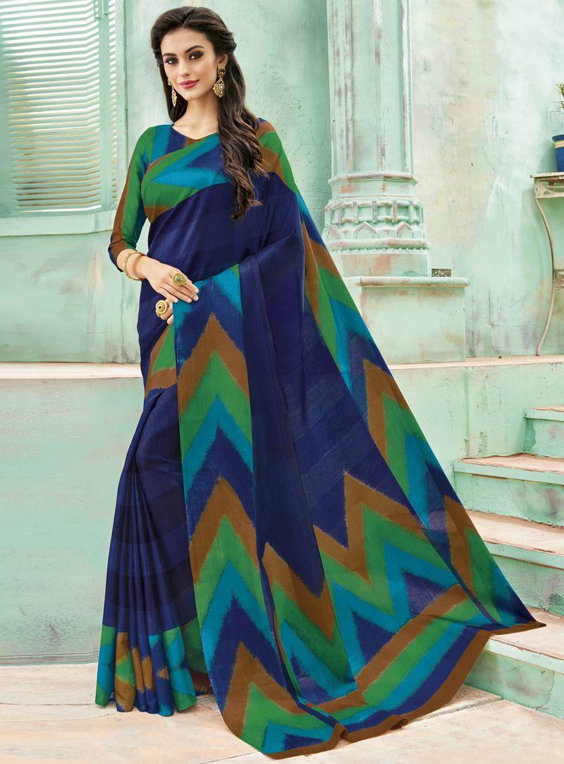 Engagement pattu saree images navy blue silk saree with blouse   indian clothes  pinterest