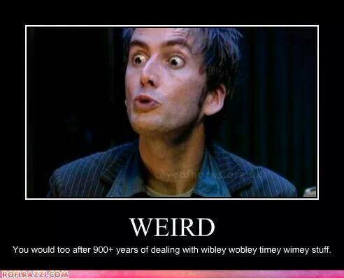 Doctor Who humor hohoooo