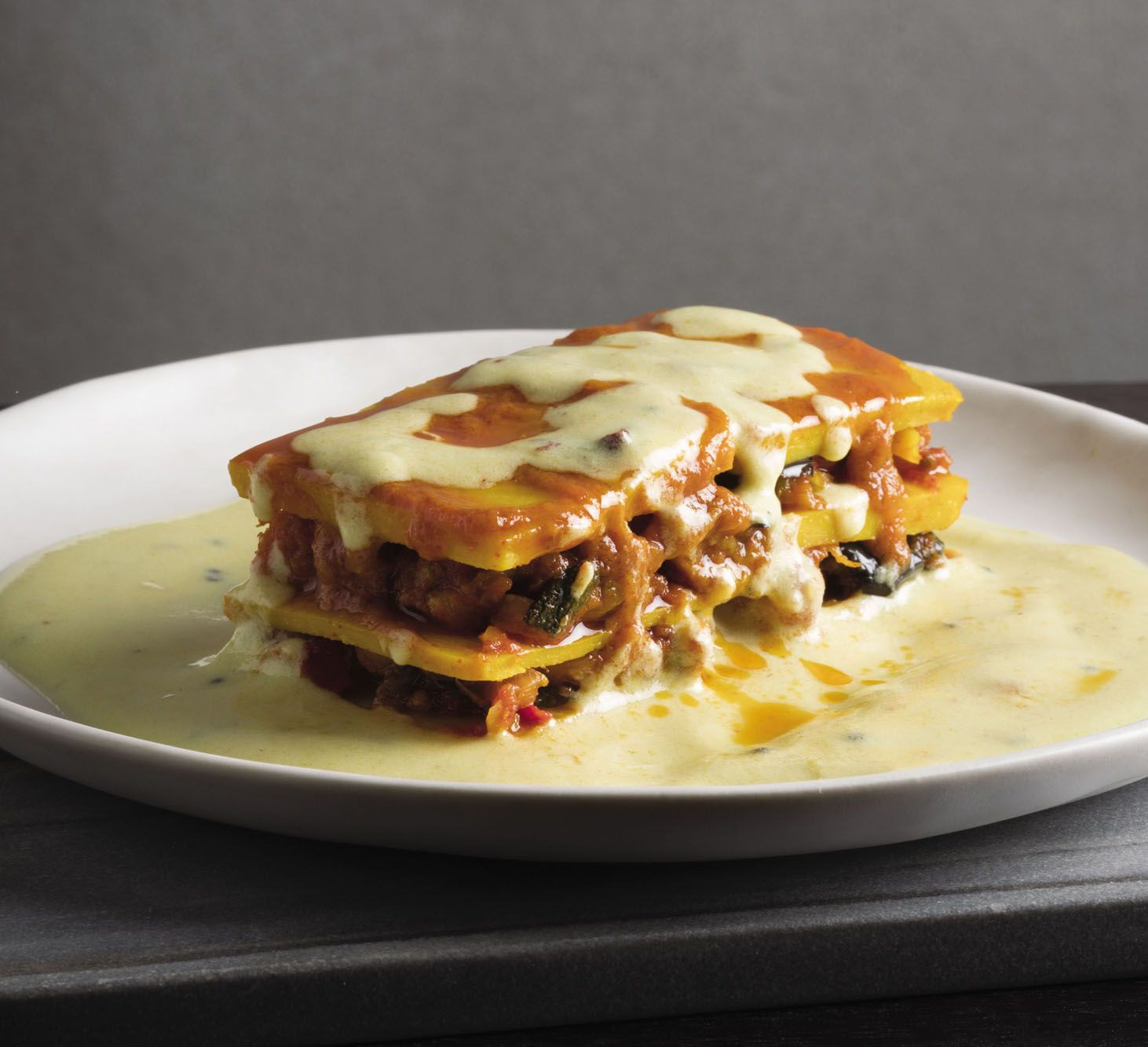 Gujarti eggplant and sweet potato lasagna with kadi sauce recipe gujarti eggplant and sweet potato lasagna with kadi sauce recipe epicurious indian food pinterest potato lasagna eggplants and sauces forumfinder Gallery