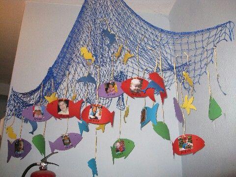 fischernetz basteln geburtstagskalender kindergarten. Black Bedroom Furniture Sets. Home Design Ideas