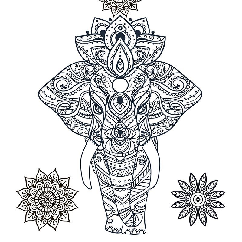 ColoringDesign01 Animal coloring pages, Free adult