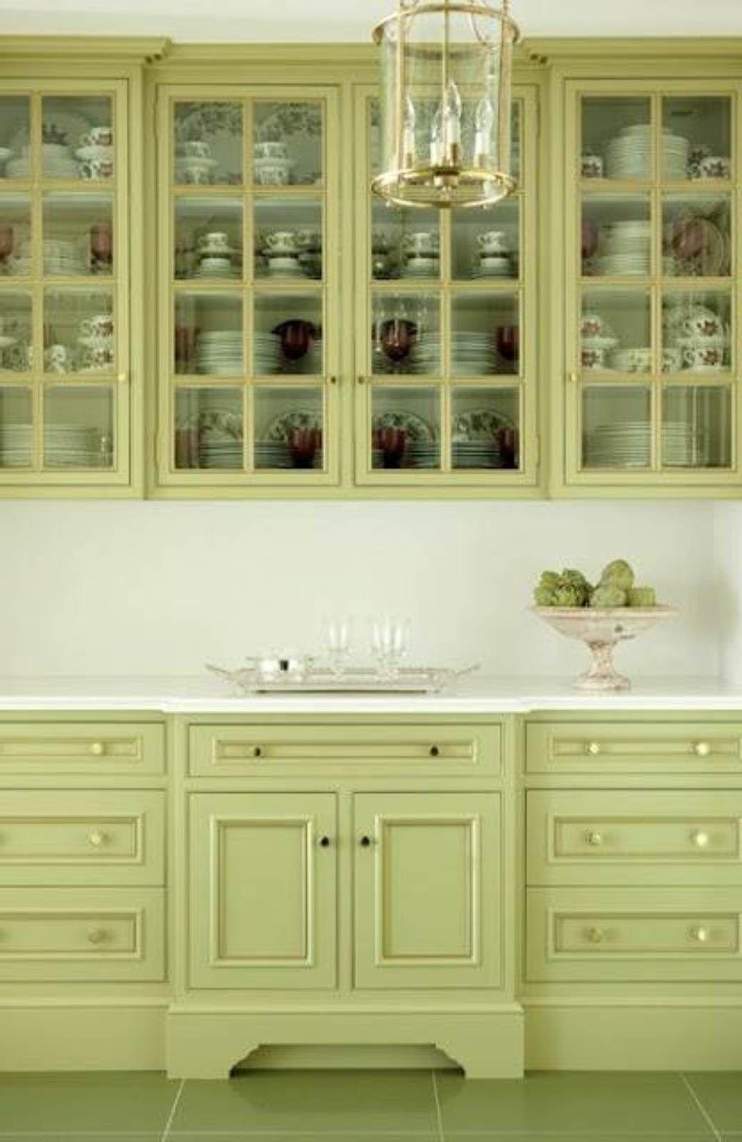 Green Kitchen Paint Colors Perfect Kitchen