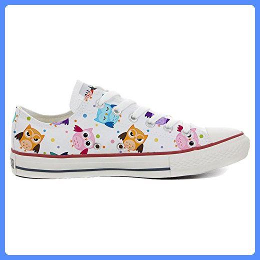 41db044e78a Converse All Star Hi chaussures Personnalisé et imprimés UNISEX (produit  artisanal) Tiny Owls size 45 EU