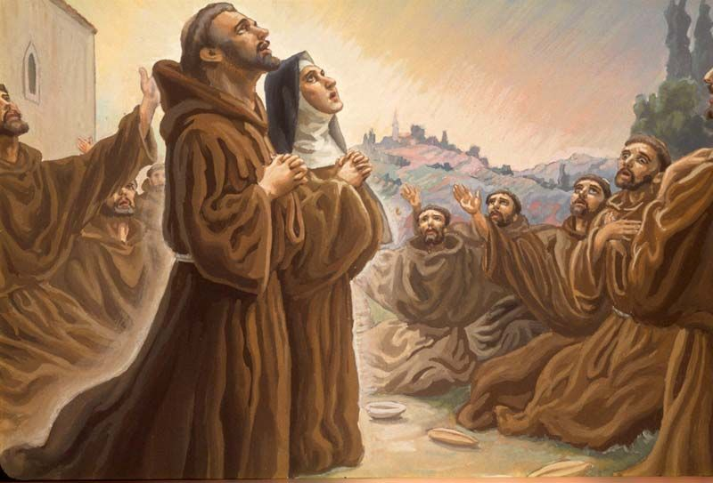 """Audite"""": Canto de exhortación para las Damas Pobres de San Damián ..."""