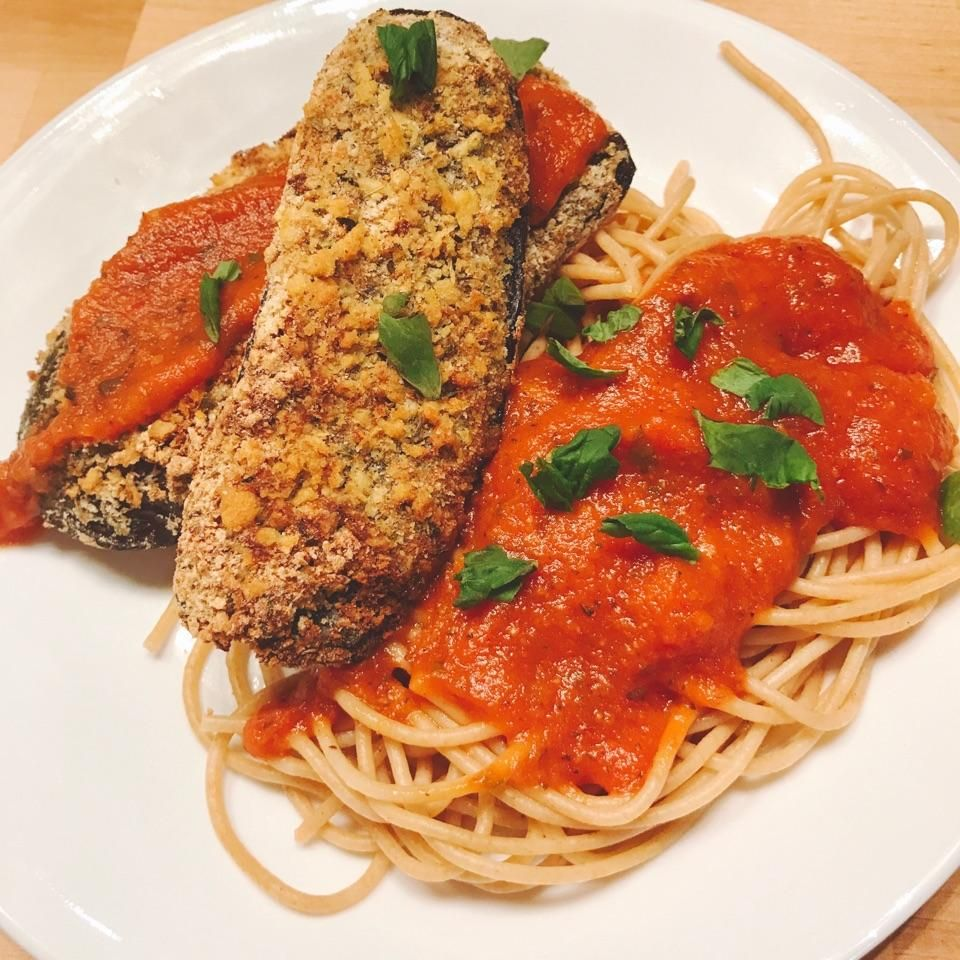 "Air fryer Eggplant ""Parmesan"" (With images) Food"