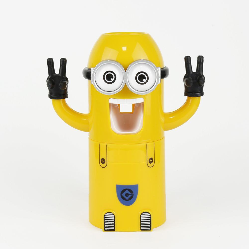Schön Automatische Zahnpastaspender Bad Zubehör Minion Zahnpastaspender Kinder  Kunststoff Zahnbürstenhalter Badezimmer Produkte