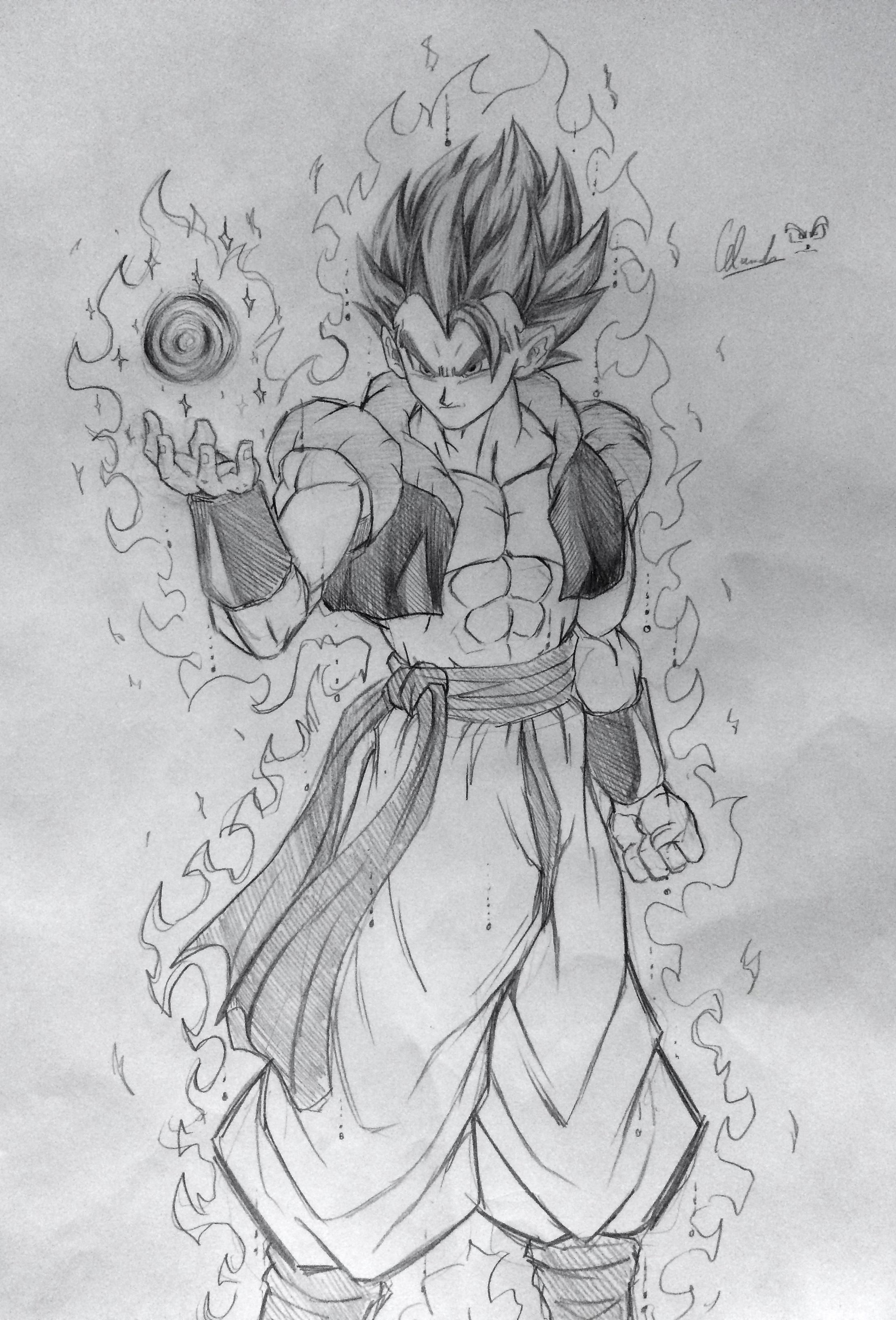 Resultado De Imagen Para Gogeta Ultra Instinct Dragon Ball Super
