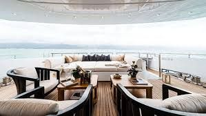 Image result for super yachts with tropical aft deck views
