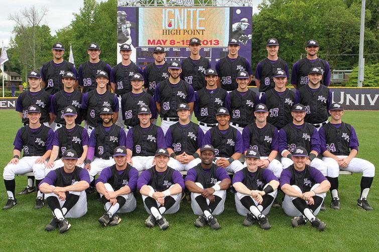 2013 High Point University Baseball Team Bring It On Freshman Year High Point University Baseball Baseball Team