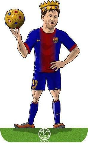 Messi the King
