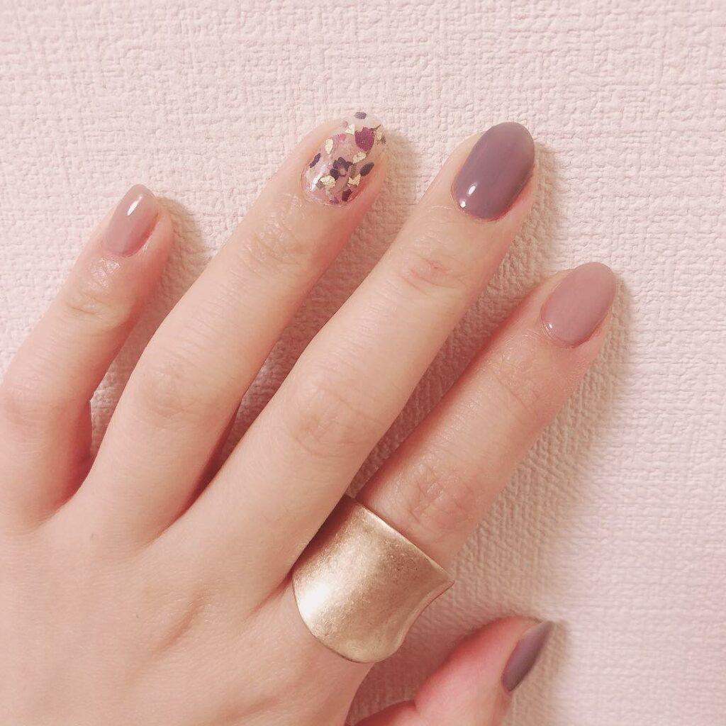 36 Natural Color Nail Art Designs 2019 Summer Small Flash Natural Color Nails Nail Colors Cute Nails