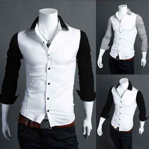 Black Men Shirt Photo Album - Fashion Trends and Models