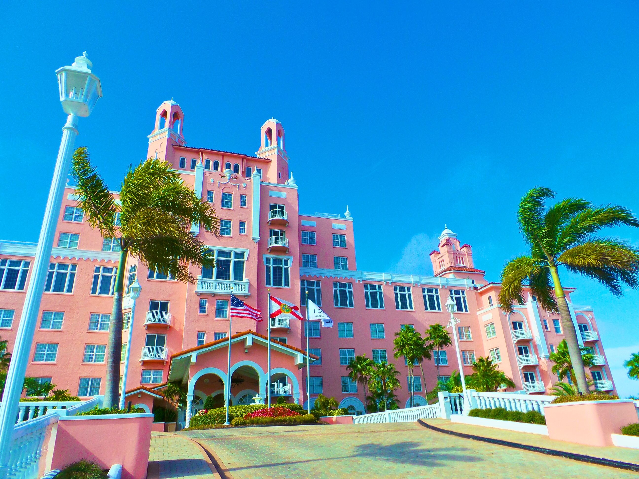 Loews Don Cesar Hotel In St Pete Beach Is Also Known As The Pink Palace