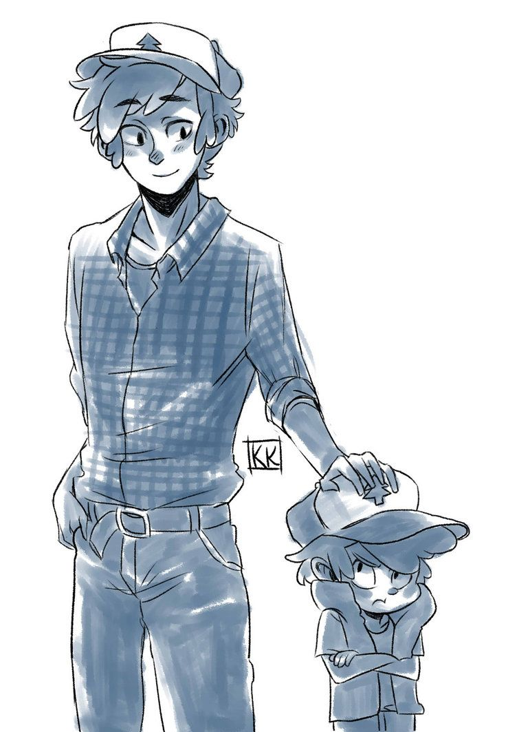 Gravity Falls- Dipper by BlackCrow06 on DeviantArt<<< Me: Older Dipper is uh.... Older!Dipper: What? Me: *is red* uhh...er...