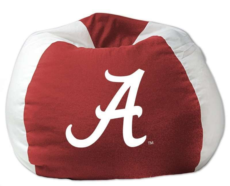 Alabama Crimson Tide Ncaa Bean Bag Chair For 52 59 From Bedding Com Alabama Crimsontide Ncaa Bean Bag Chair Small Bean Bag Chairs Small Bean Bags