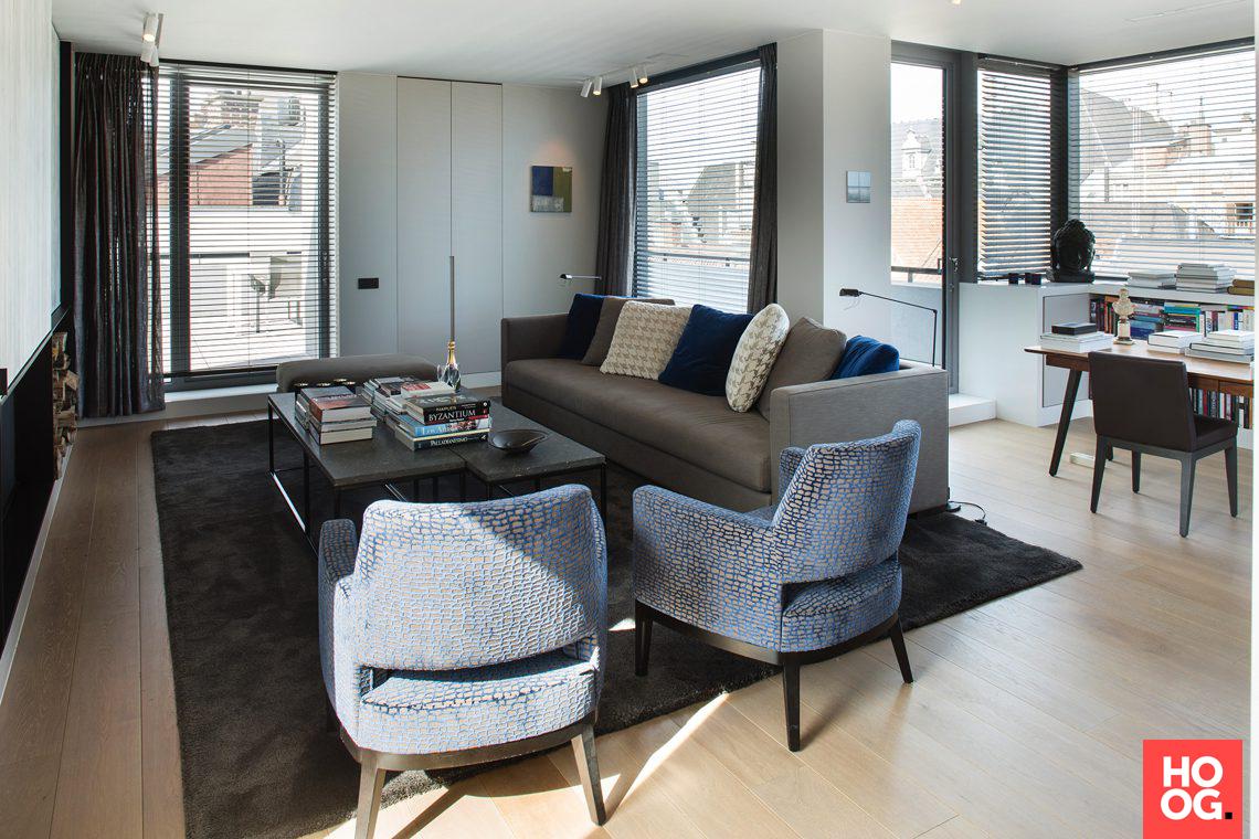 Burigat decoratie luxe penthouse gent hoog □ exclusieve woon