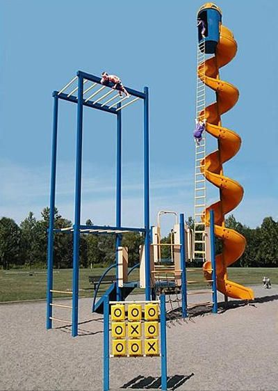 The 20 Worst Playgrounds On Earth Photos Cool Playgrounds Playground Playground Design