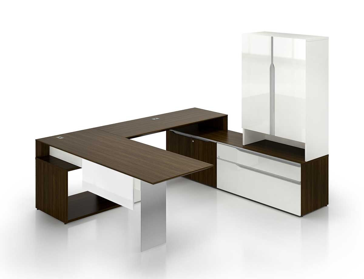 Modern contemporary office desks and furniture executive for Table design for office