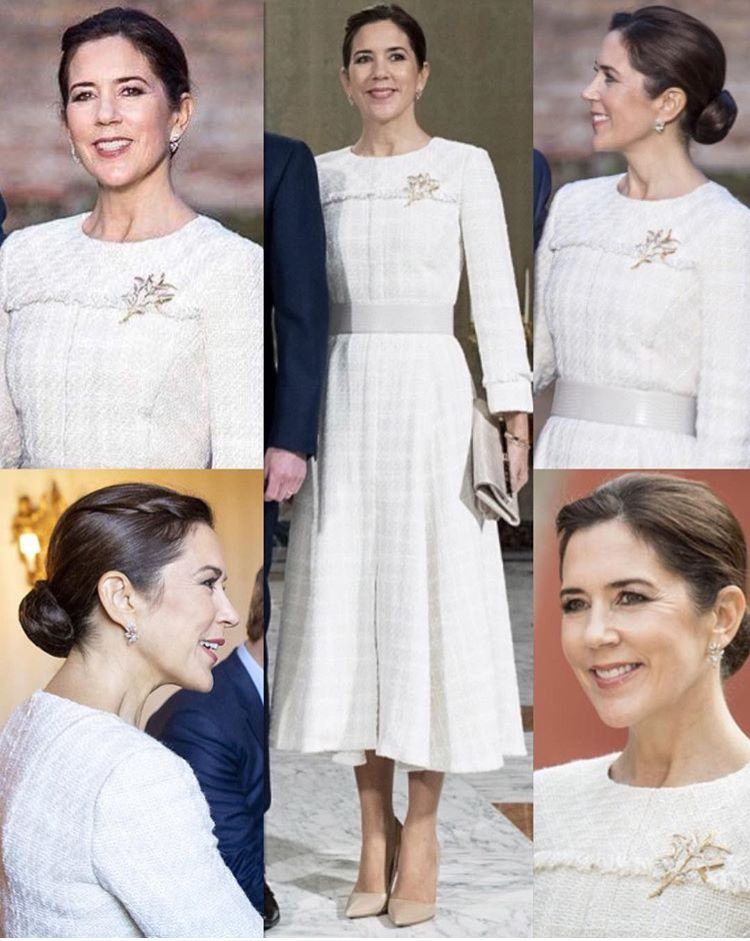 22512055ced 06/11-2018 Crown Prince Frederik and Crown Princess Mary of Denmark are  visiting Italy's capital, Rome. The Crown Prince Couple visited Terme Di  Caracalla ...