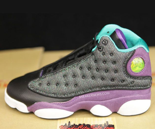 pretty nice bef6c 9661c Air Jordan XIII GS Grape (2013) been wanting these, but only had little Ms.  Hayden s size!  (