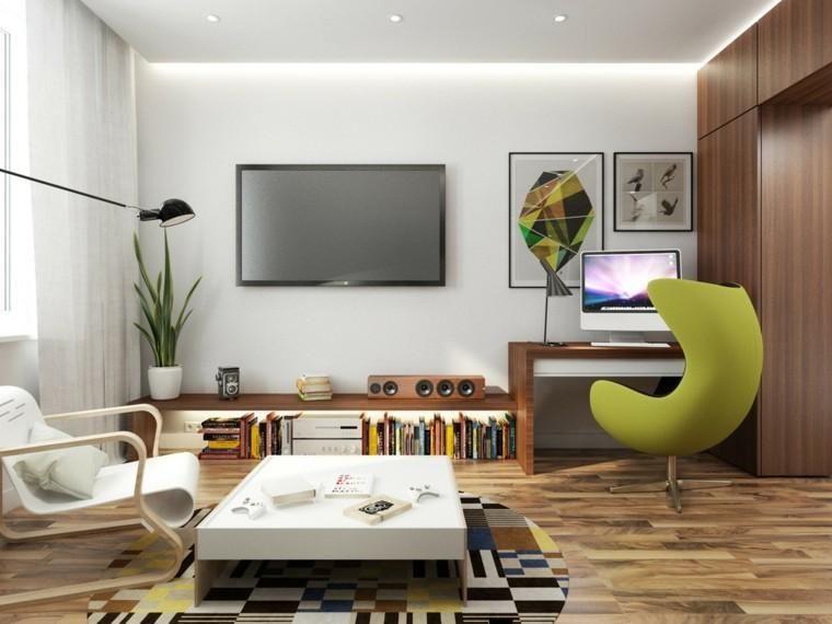 Small apartments 2 inspiring ideas of interior design