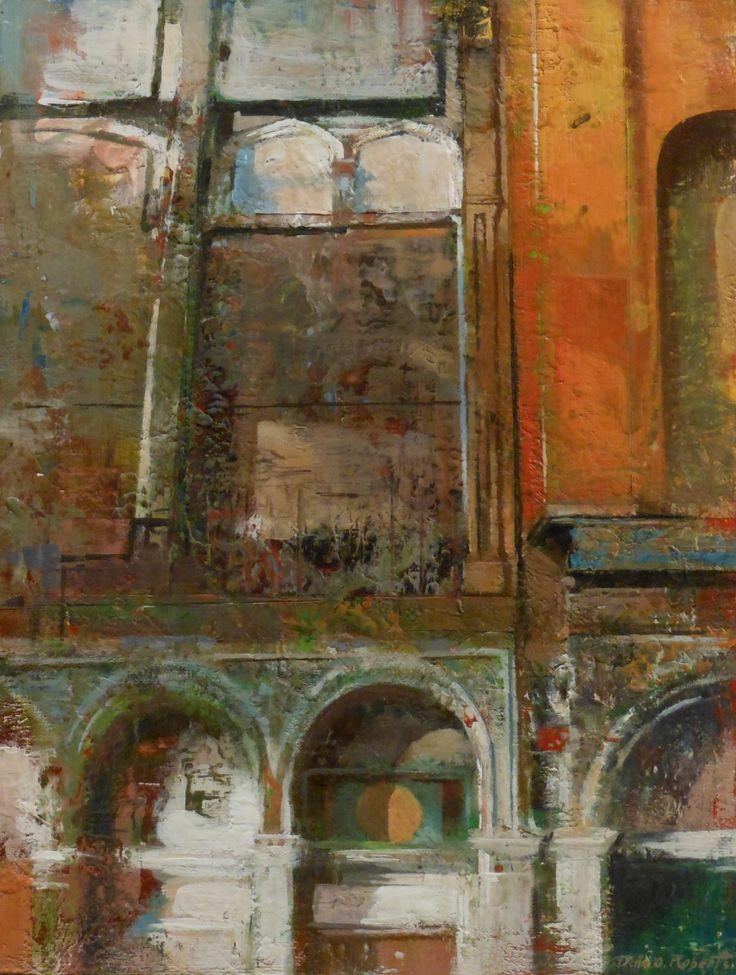 Dale Roberts large encaustic cityscape | ART+ | Pinterest