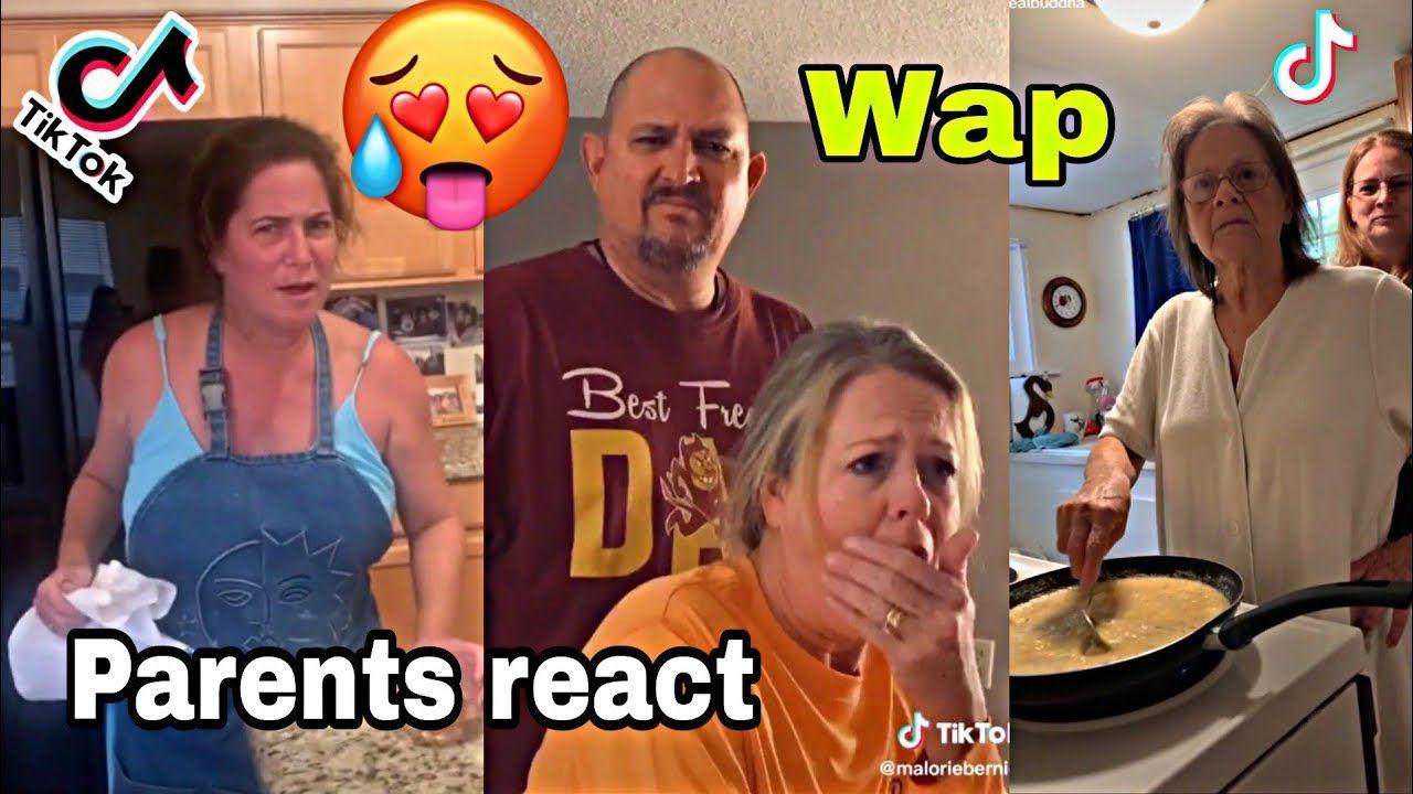 Best Of Parents React To Wap On Tik Tok Cardi B Ft Meganthee Part 5 Youtube Cardi B Cardi Parents