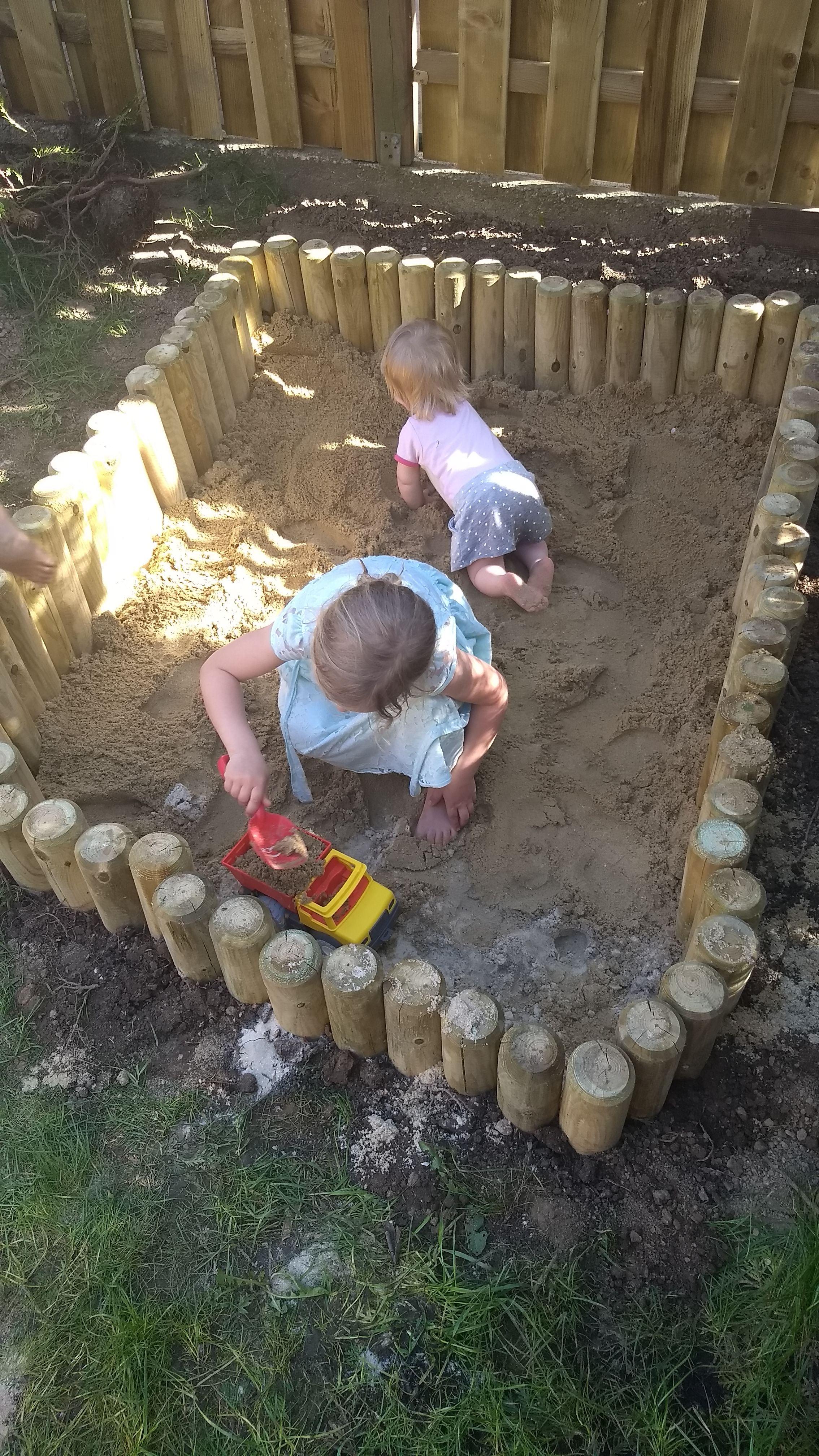 DIY Sandkasten   ein Gartenprojekt für Jedermann   Gartenprojekte ...